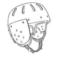 Ear Cover for Hard Shell Helmet