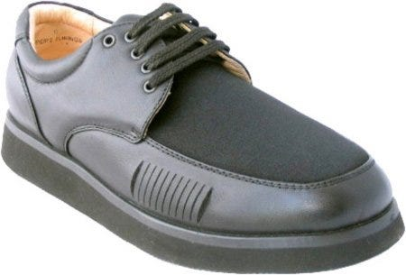 Mens Black Lace Paul Bunion Shoe