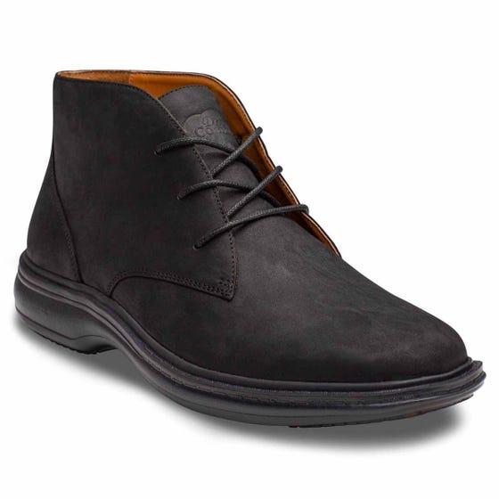 Ruk Mens Chukka Boot, Black