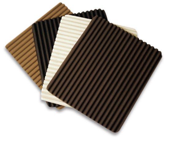 "Rib Flex, Brown, 7mm, Sheet 36"" x 24"""