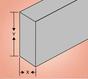 Square Edge Aluminum Bar Stock
