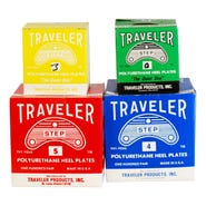 Traveler Step Plates with Adhesive Back Size 6